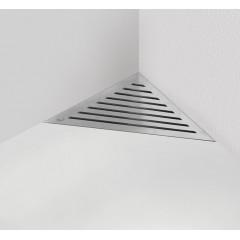 Alcaplast ARZ1 rohový podlahový žlab ke zdi (ARZ1)