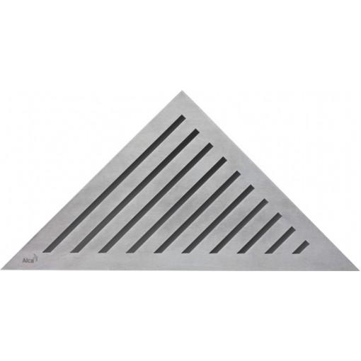 Alcaplast GRACE rošt podlahového rohového žlabu matný (GRACE)