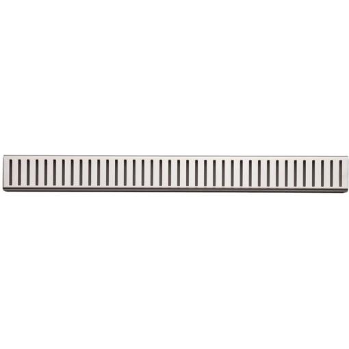 Alcaplast PURE-100L rošt podlahového žlabu lesklý 10cm doplněk roštu APZ1 PURE-100L