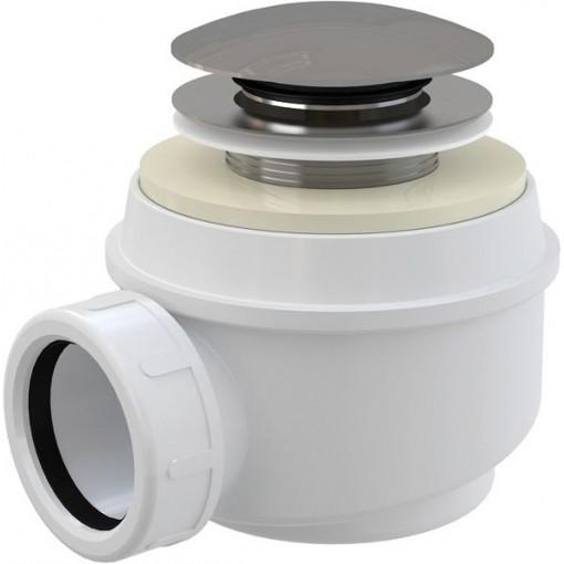 Sifon sprch 50 chrom A465d50 click/clack ALCAPLAST Plast A465-DN50 (A465-50)