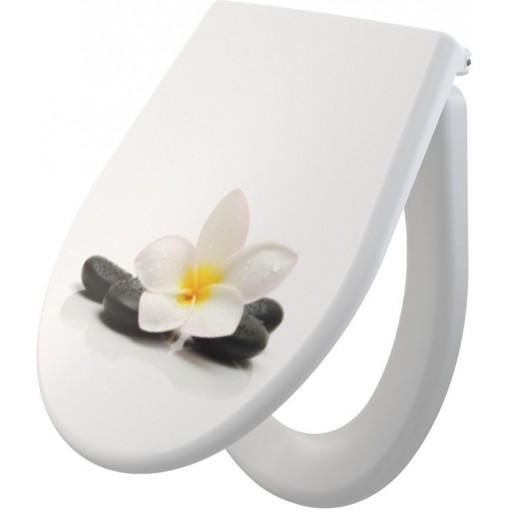 ALCAPLAST - WC sedátko se zpomalením-softclose A604 FLOWER A604 FLOWER (A604 FLOWER)