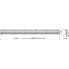 Alcaplast GAP-650M rošt pro APZ6, 106, 1006, 1106 GAP-650M