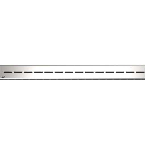 Alcaplast ROUTE-950L lesklý rošt nerez pro žlab APZ13 Modular ROUTE-950L