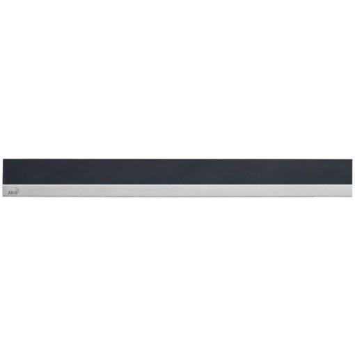 Alcaplast MINERAL POSH Rošt pro liniový podlahový žlab syntetický kámen černý  nerez mat MP1205-1150