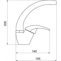 NOVASERVIS - Umývadlová drezová batéria Metalia 57 chróm 57016,0