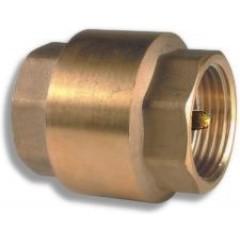 """NOVASERVIS - Zpětná celokovová klapka kovová vložka 1"""" JY504/25"""