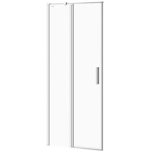 CERSANIT - Kyvné dvere s pevným poľom MODUO 80x195, ľavé, číre sklo S162-003