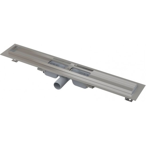 Alcaplast APZ101-1050-LOW podlahový žlab výška 55mm SNÍŽENÝ kout min. 1100mm APZ101-1050