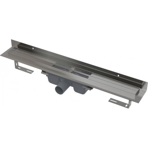 Alcaplast APZ16-950 Wall podlahový žľab v.95mm kút min. 1000mm pre plný rošt as pevným golierom k stene APZ16-950