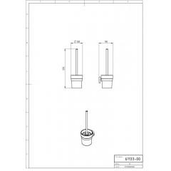 NOVASERVIS - WC kefa Metalia 11 chróm 0133,0