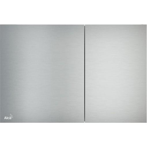 Alcaplast ovládací deska Flat AIR kov-mat AIR