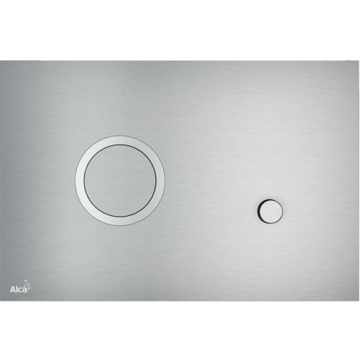 Alcaplast ovládací deska Flat STING kov-mat/lesk (STING)