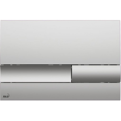 Alcaplast Ovládací tlačítko , chrom-mat M1732 (M1732)