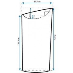 REA - Voľne stojace umývadlo Molly REA-U0638