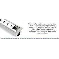 REA - Lineárne odtokový žľab vrátane roštu WAVE 600 N REA-G0116