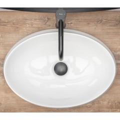 REA - Umývadlo na dosku Angela 52x37 biele REA-U9634