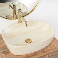 REA - Umývadlo na dosku Frej BIANCO REA-U5678