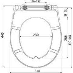 ALCAPLAST - WC sedátko se zpomalením-softclose A604 Zen A604 ZEN A604 ZEN
