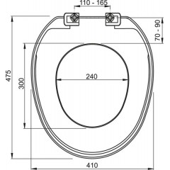 ALCAPLAST - Alca WC sedátko bílé A3553 A3553