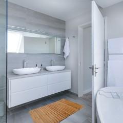 REA - Bambusová kúpeľňová podložka 50x80 381176 LAZ-09541