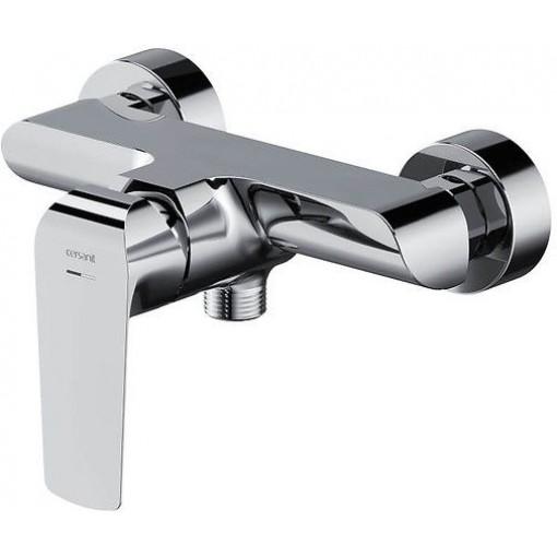 CERSANIT - Nástenná sprchová batéria CITY, páková, chróm S951-352