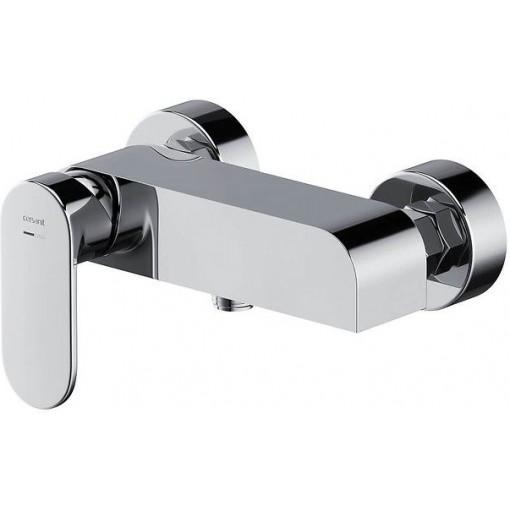 CERSANIT - Nástenná sprchová batéria CREA, páková, chróm S951-319