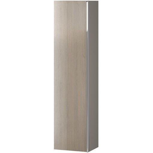 CERSANIT - Nábytkový stĺpik VIRGO šedý dub s chrómovou úchytkou S522-034